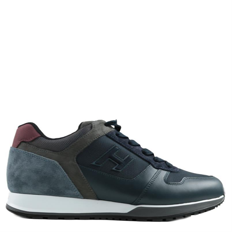 HOGAN sneakers h321 blauw