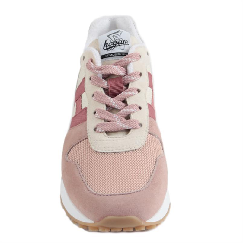 HOGAN sneakers h383 roze