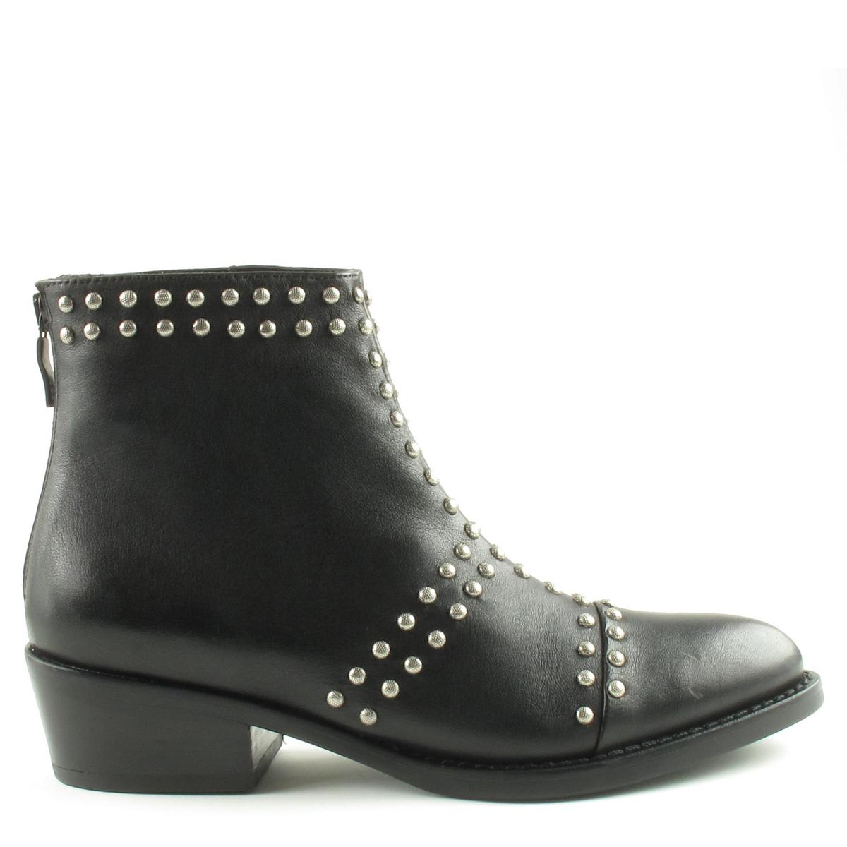 & Chaussures Janet Janet À Lacets Noir CsJLnVCC