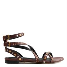 LOLA CRUZ sandalen 112z12bk